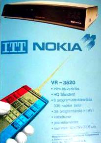 ITT Nokia videomagnó