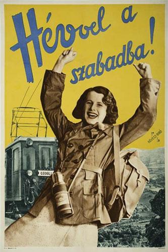 Hévvel  szabadba plakát