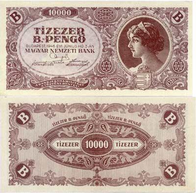 Tízezer B. pengő