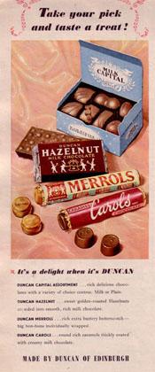 Duncan csokoládék