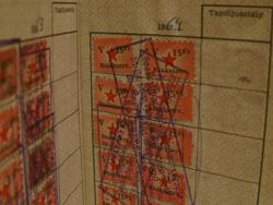 Szakszervezeti tagsági bélyegek