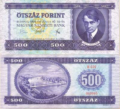 Ötszáz forint