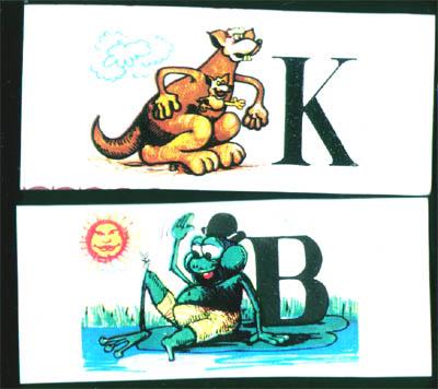 Szerencsi Állat ABC csokoládé sorozat