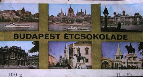Budapest csokoládé