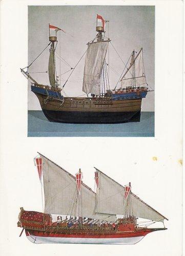 Vitorlás hajó modellek