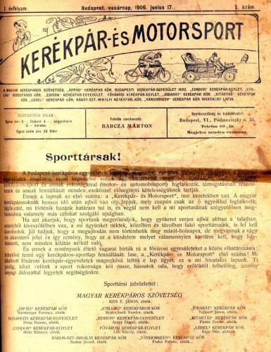 Kerékpár- és Motorsport
