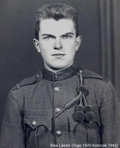 Második világháborús  Kiss László hősi halott