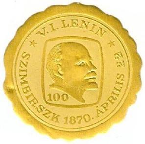 Lenin 100 matrica