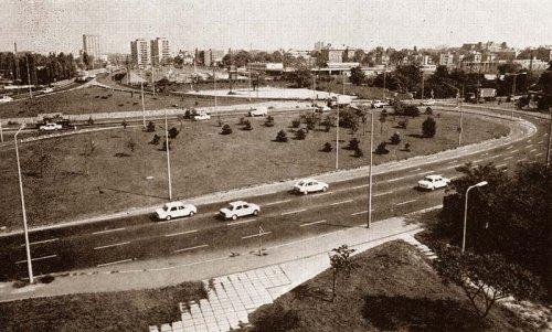 A városligeti csomópont a még meg nem épült Kacsóh Pongrác felüljáró előtt