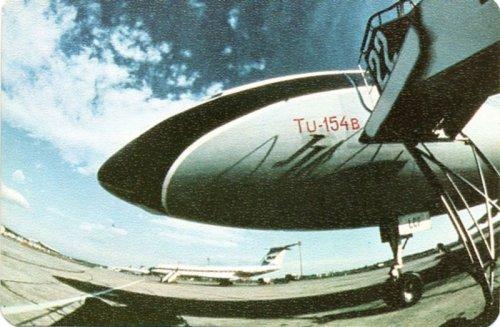 Malév Tu-154 kártyanaptár