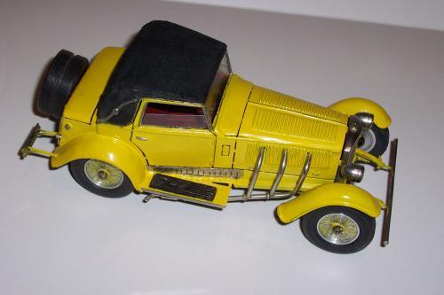 Autó modellek 1890-1970 között ( Mercedes-Benz SSK 1928 )