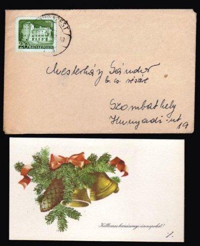 Mini postai levél