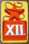 kártyanaptár 1980