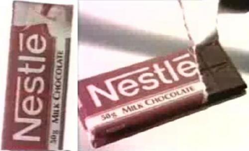 Nestlé csokoládé