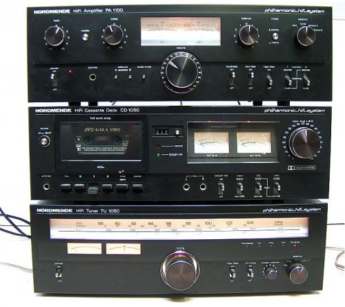 Nordmende PA-1100, CD-1050, TU-1050 torony