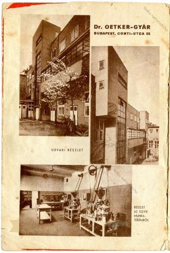 Dr. OETKER gyár