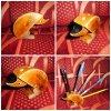 ceruzatartó süni