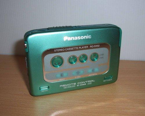 Panasonic walkman RQ-SX52