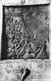 Eger emléktábla a vár falán