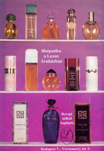Parfüm hirdetés