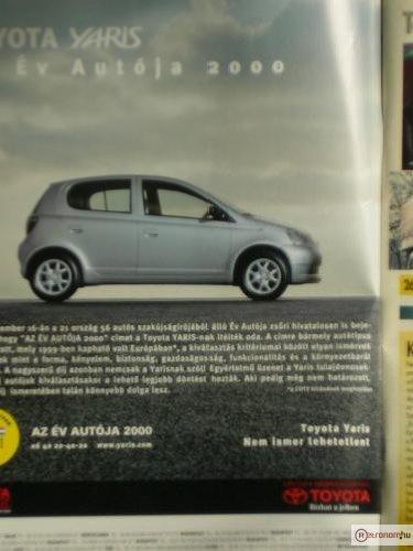 """Toyota Yaris """"az év autója"""""""