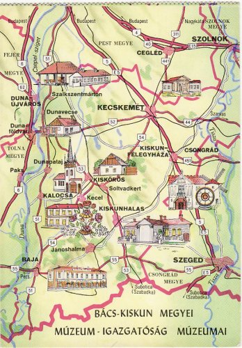 Bács-Kiskun megye múzeumai