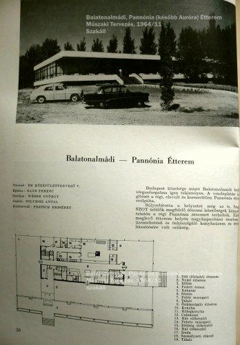 Balatonalmádi Pannónia (később Auróra) Étterem