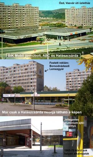 ABC áruház és üzletek, Ózd, Vasvár út