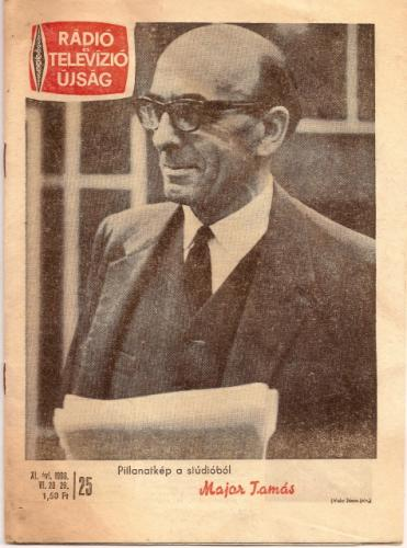 Rtv újság Major Tamás