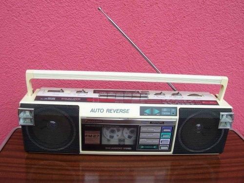 Panasonic RX-FM27L rádiómagnó