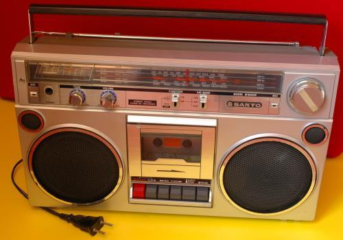 Sanyo rádiósmagnó