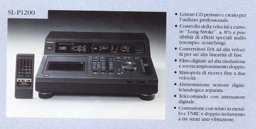 Technics SLP-1200 Cd lejátszó