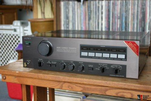 Sony TA-F555ES az első esprit integrált erősitő