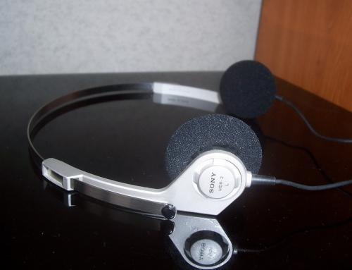 Sony MDR-2 fejhallgató