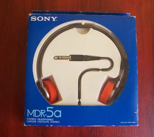 Sony walkman fejhallgató MDR-5a