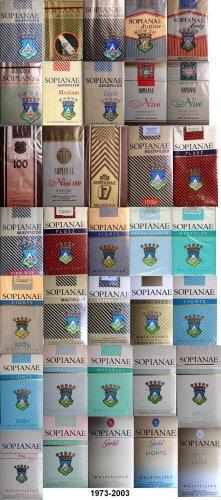 Sopianae cigaretta gyűjtemény