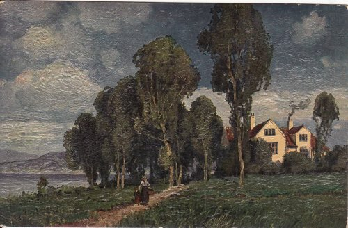 Festett képeslap