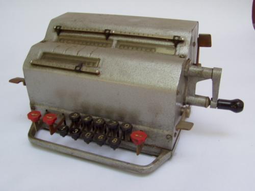 Szovjet számológép mechanikus