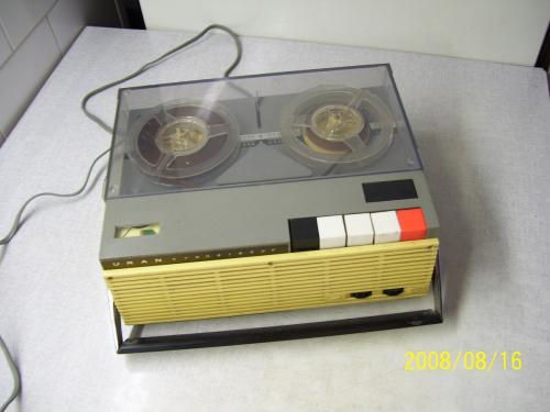 Tesla Uran tranistoros hordozható magnetofon