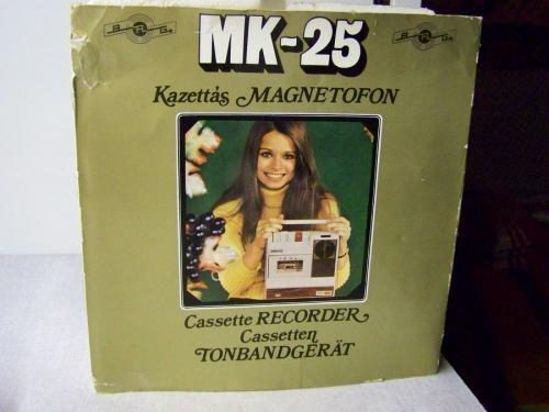 BRG MK 25 magnetofon eredeti dobozában