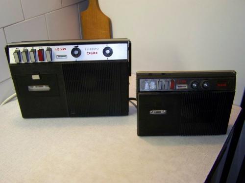 BRG MK 21 magnó és díszdoboz