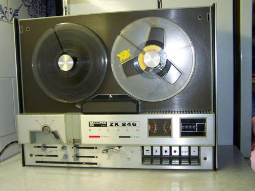 Unitra ZK 246 st magnetofon