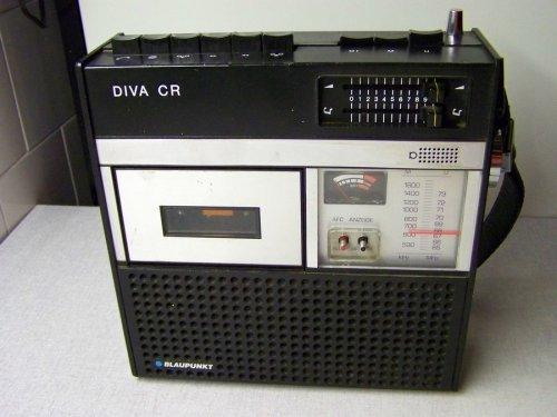 Blaupunkt Diva Cr 100 német rádiósmagnó
