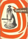 UNIPRESS kávéfőző füzete