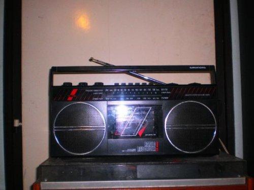 Grundig rádiós magnó