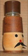 Tojás-kiszúró, tojástű homokórával (feladvány volt)