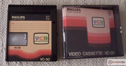 Philips VCR - az első kommersz videokazetta rendszer