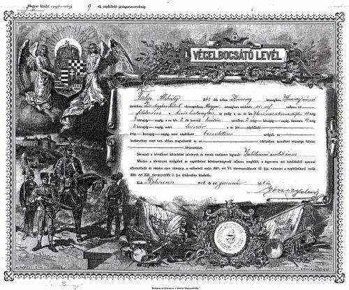 Végelbocsátó levél a Közös Hadseregből