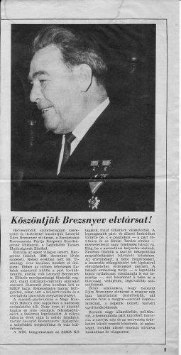 Leonyid Brezsnyev 75 éves