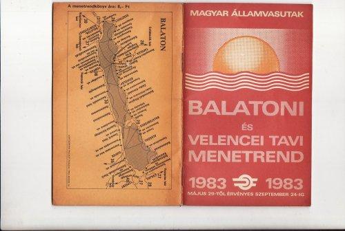 Balatoni és velencei tavi nyári menetrend